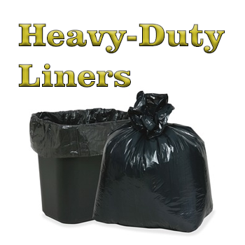 SKILCRAFT Heavy-duty Recycled Trash Bags